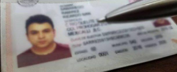 Prisión preventiva para un falsificador de credenciales para votar