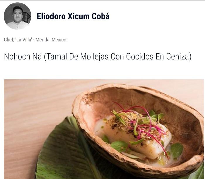 Chef yucateco buscará ganar un certamen gastronómico mundial