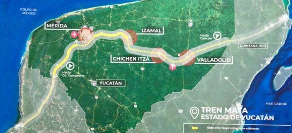 Cambian la ruta del Tren Maya