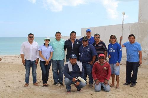 """Funcionarios y empleados de Progreso participan activamente en la """"Recuperación de Playas"""""""