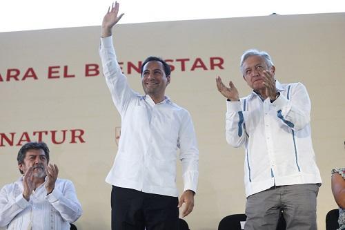 Las oficinas del Tren Maya estarán en Mérida, afirma AMLO