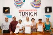 Renán Barrera presentó la 18° edición de la Feria Artesanal  Municipal Tunich 2019