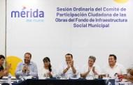 Avanza el combate a la pobreza en Mérida: 64.5 millones para obras de infraestructura social