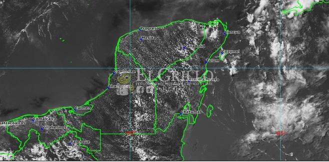 Jueves de calor de hasta 39º y tormentas en el Noreste, Centro y sur de Yucatán