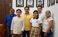 Julián y Karla representarán a Progreso en el concurso internacional de la FCCA