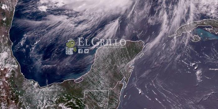 Sábado con calor de hasta 38º y chubascos vespertinos en el noreste y Centro de Yucatán
