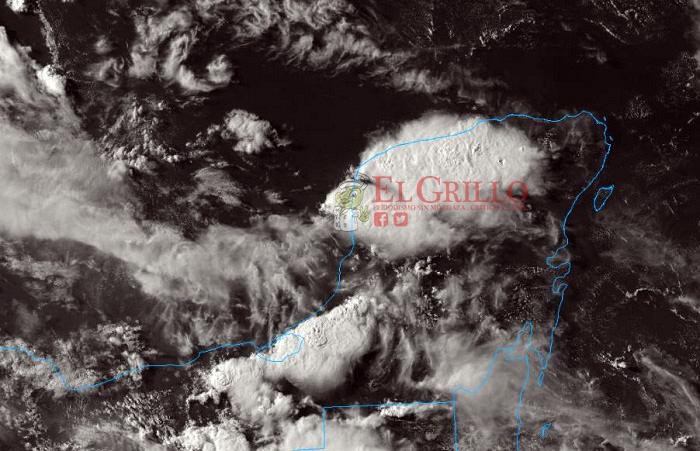 Más chubascos, en el Norte y Noreste de Yucatán, y calor de hasta 38º
