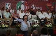 Respaldaremos a los mexicanos contra las malas decisiones del gobierno, dice Ivonne Ortega