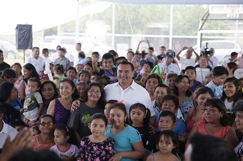 Renán Barrera reinauguró el parque