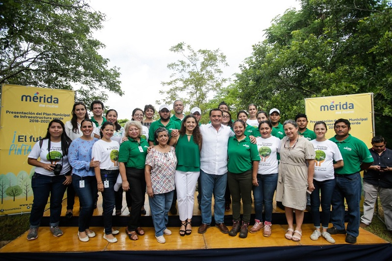 Mérida tendrá más y mejores espacios ambientales