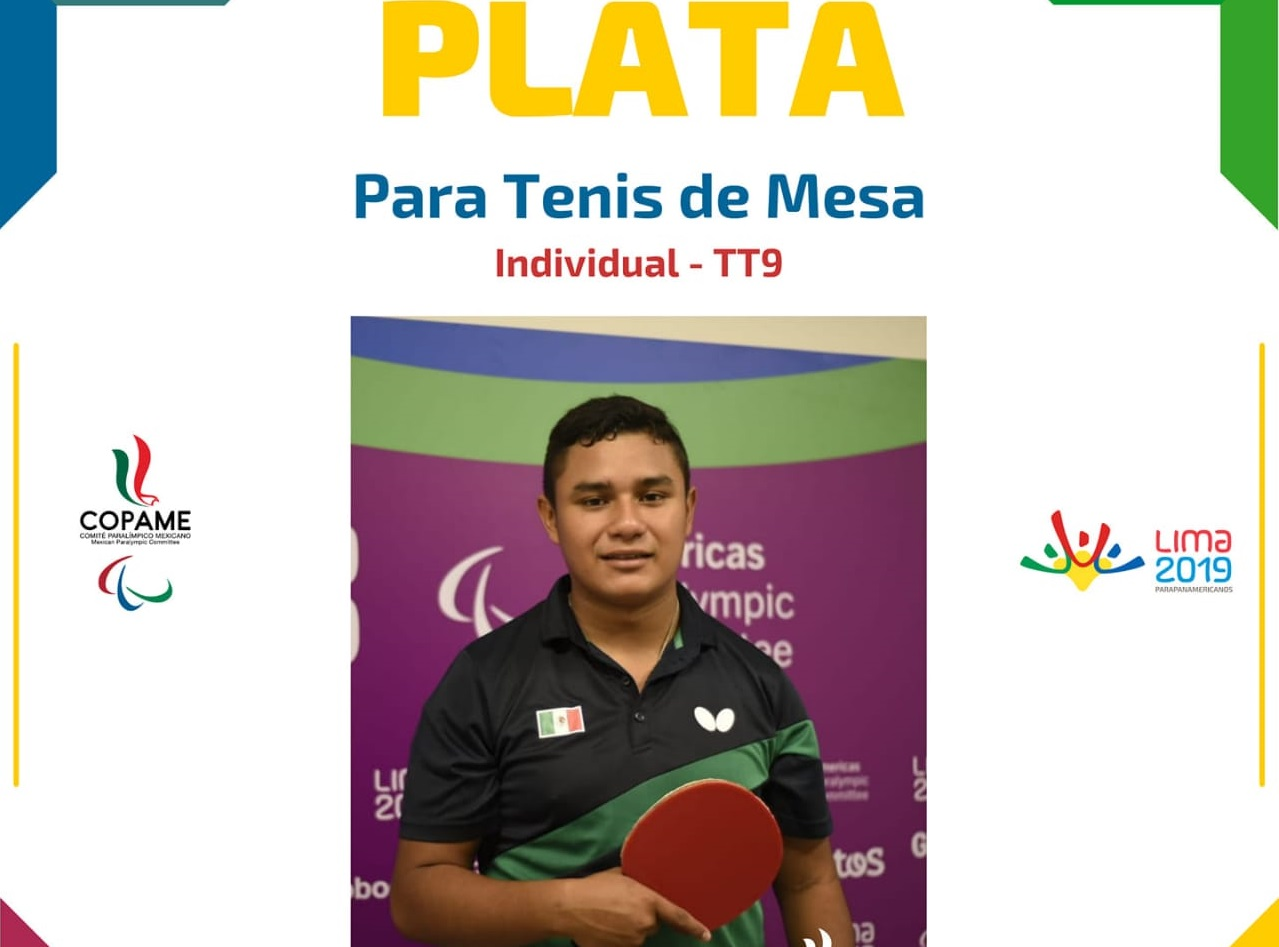 El yucateco Ariff Vázquez consigue la plata en los Juegos Para-Panamericanos en Lima, Perú