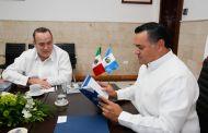 Mérida y Guatemala estrechan relaciones para trabajar en conjunto