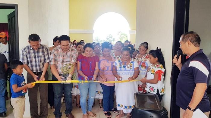 La Comuna de Oxkutzcab inaugura los talleres de autoempleo