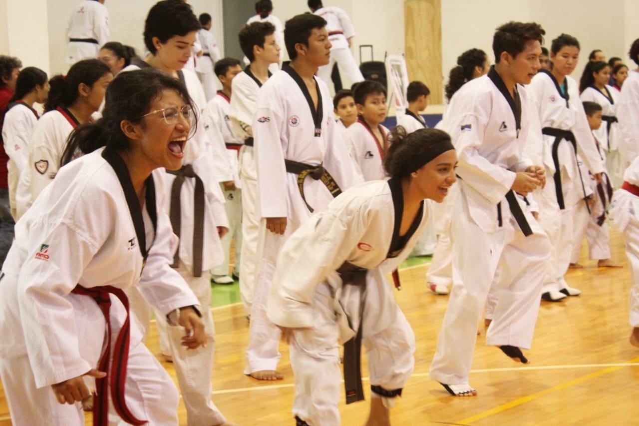 """Realizan el primer escauteo de la tae kwon do """"Muévete Yucatán"""""""