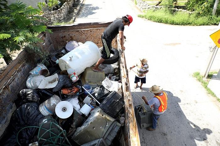 Recolectan 50.27 toneladas de basura durante el último día de la Segunda Campaña de Descacharrización