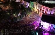 La Arrolladora Banda Limón llena la Plaza Grande, para dar El Grito