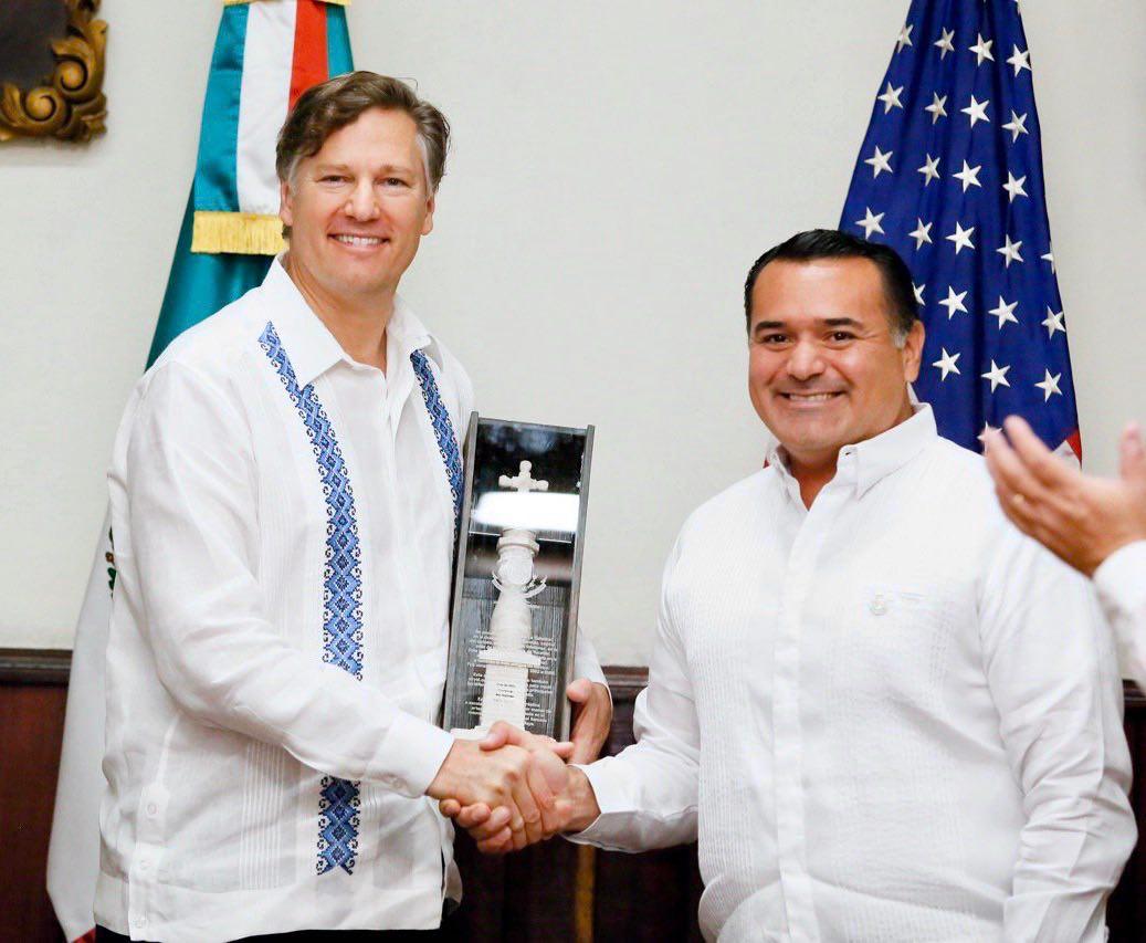 Mérida, un ejemplo para el mundo: Christopher Landau, embajador de los EEUU