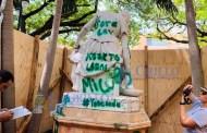 Comienzan a restaurar el Monumento a la Madre: El trabajo tardará un mes