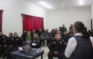 Capacitan a policías de Oxkutzcab y de Akil, para mejorar la seguridad