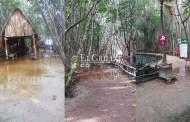 """Hasta el jueves reabrirían """"El Corchito"""": sigue inundado"""