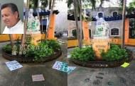 Miente la Fiscalía o Alejandro Ruz, por el grafiteo al Monumento a la Madre