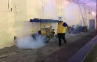Intensa campaña de fumigación en Mérida y comisarías