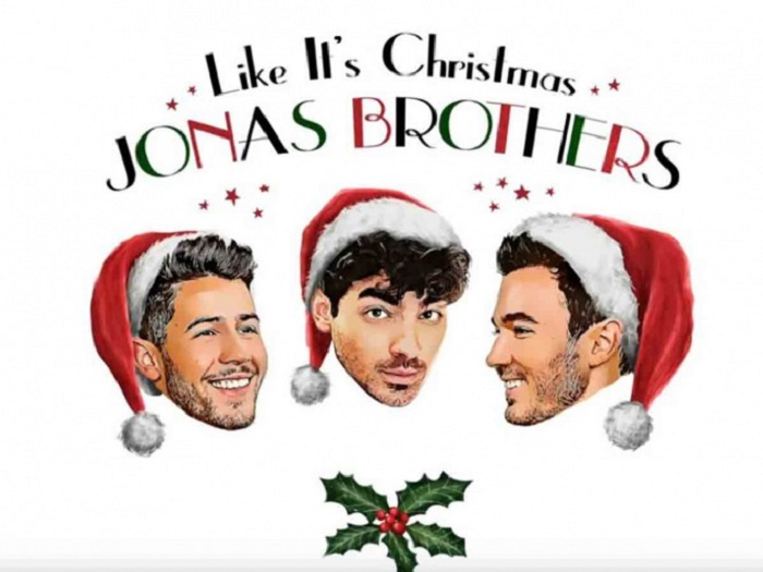 En vísperas de Navidad, los Jonas Brothers estrenan su villancico