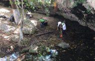 Sacan toneladas de basura de 10 cenotes