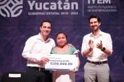 Emprendedores yucatecos reciben más apoyo