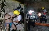 Un joven se fracturó un brazo, tras caer en el sumidero de su casa, en Umán