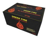10 kg Greek Fire Profi-Holzkohlebriketts -
