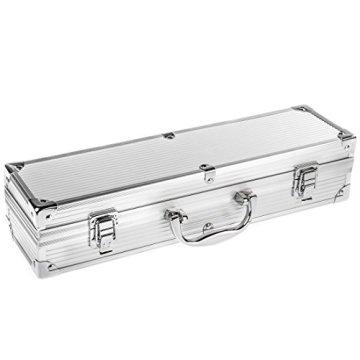 Bruzzzler Edelstahl Grillbesteck-Set 3-teilig im Koffer -