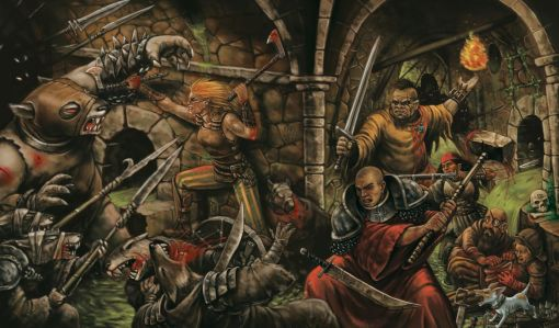 Resultado de imagem para warhammer fantasy 2 ed artwork