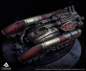 How to Paint: Legio Custodes - Caladius Grav-Tank
