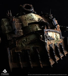 How to Paint: Death Guard - Plagueburst Crawler