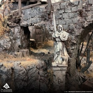 How to Build Dark Fantasy Terrain: Springtide Part 2 of 10 - Sculpting The Cliffs