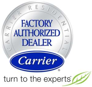 Carrier factory authorized dealer for College Station and Bryan Texas