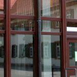 Eingang Grimmelshausen-Gymnasium