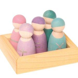 Drewniane figurki
