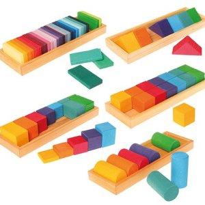 Zestaw do budowania kształtów i kolorów