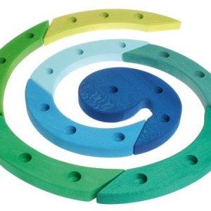 niebiesko-zielona