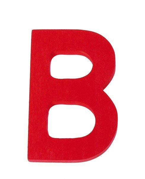 Drewniana Litera B