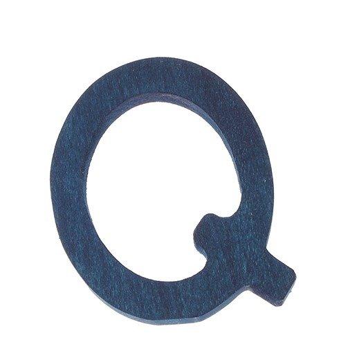 Drewniana Litera Q