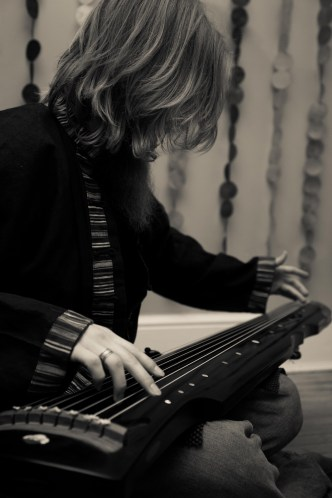 BC on guqin 古琴 for Redolent Spires promo shoot | (c) Diwas Photography
