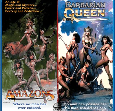 Barbarian Queen/Amazons Double Feature