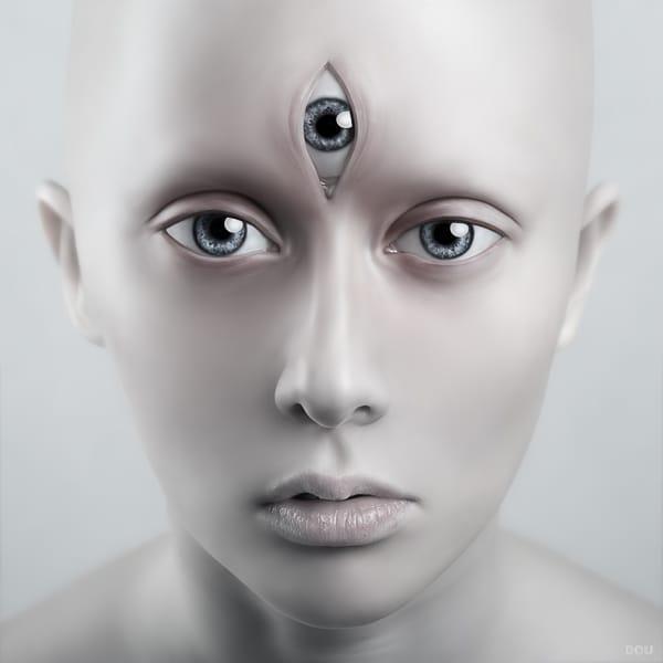 A bal szem 30% -os látása)