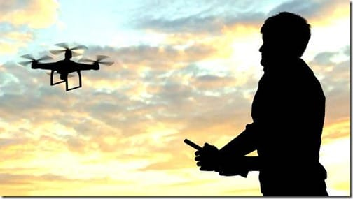 Keep Your Drone On Sight: