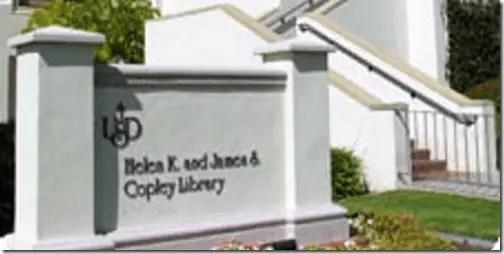 Helen & James Copley Library