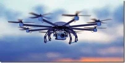 civilian drones work