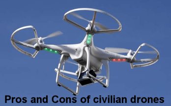 Pros and Cons of civilian drones